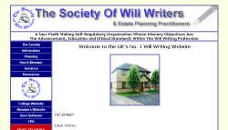 View Society of Will Writers site